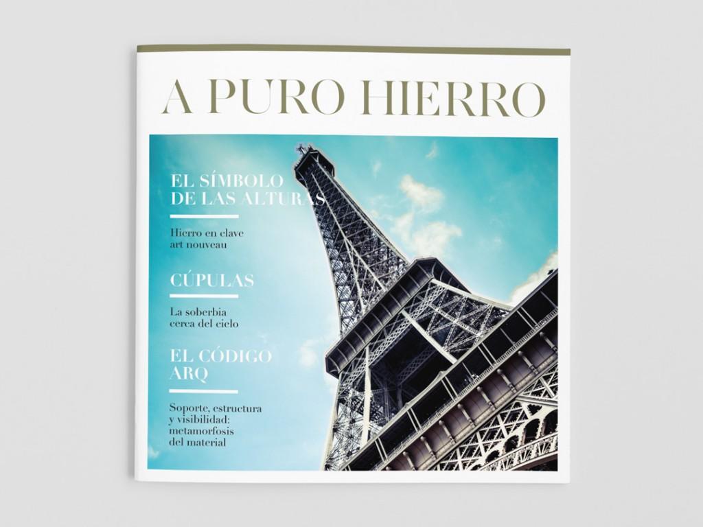 Hierro Magazine. Elea Laboratory